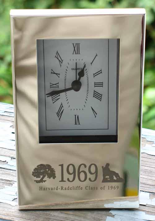 Class of 1969 Logo Clock