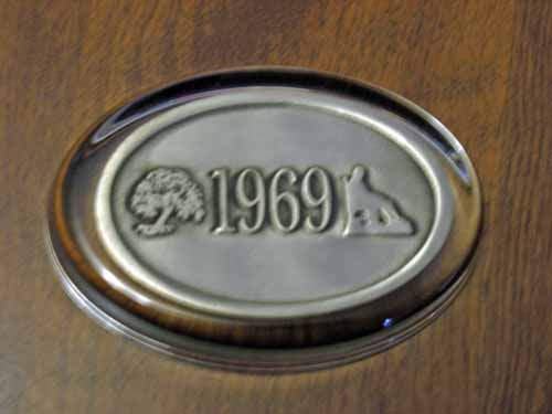 Class of 1969 Pewter Paperweight