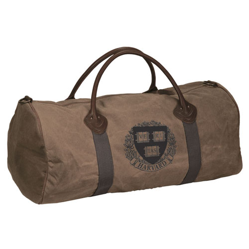 Harvard Veritas Waxed Cotton Canvas Duffel