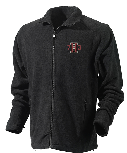 Class  of 1973 Black Full Zip Jacket