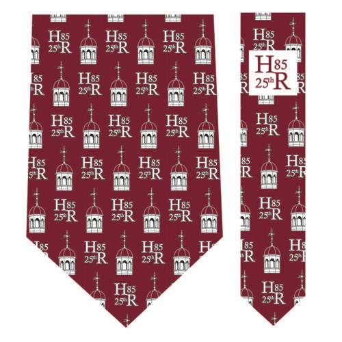 Vineyard Vines Harvard Class of 1985 Crimson Silk Tie