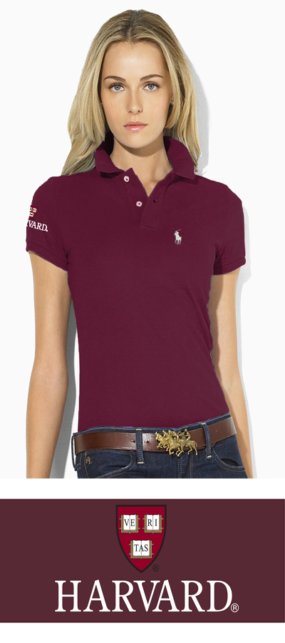 Home   HARVARD   Sale   Womens   Ralph Lauren Women s Maroon Harvard Polo 32a22aa9f