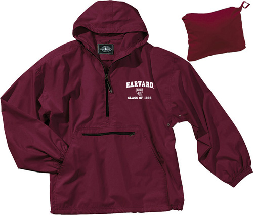 Class of 1995 Crimson Pack n' Go Jacket