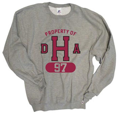 Property of DHA Class of 1997 Grey Crew Sweatshirt