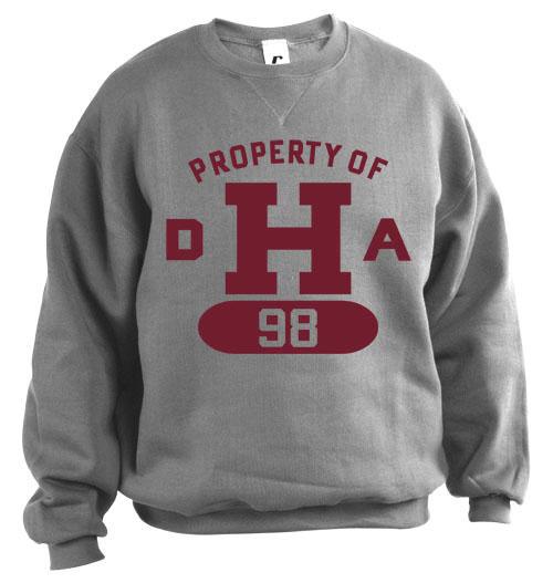 DHA Grey Sweatshirt Class 1998